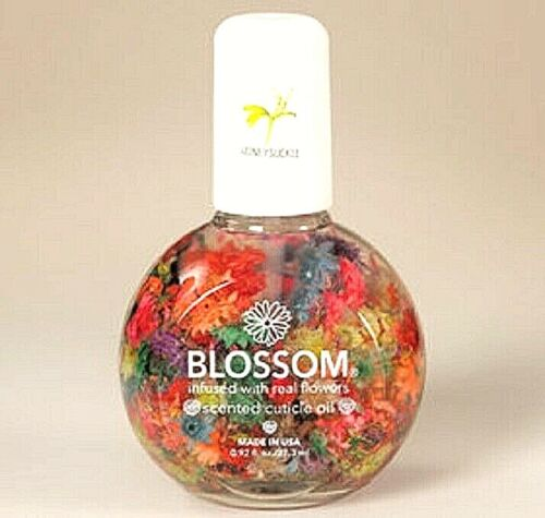 Blossom Manicure Cuticle Oil Treatment Scented Made USA Real Flowers Honeysuckle