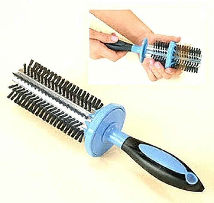 Easy Clean Hairbrush Remove Hair Easy Grip Hair Brush Easy Grip Innovative NIB Home & Garden