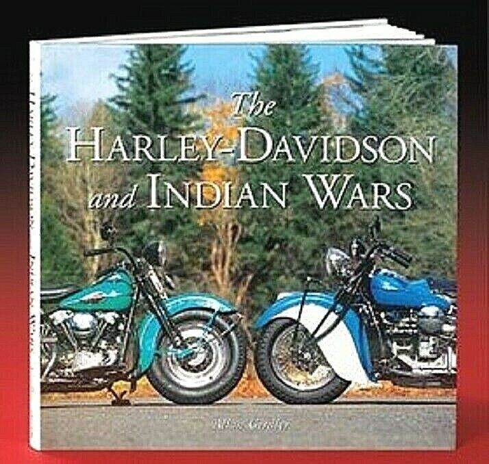 Harley & Indian motorcycle Wars hardbound Book Classic 200+ Photos Hardcover NEW Antiquarian & Collectible