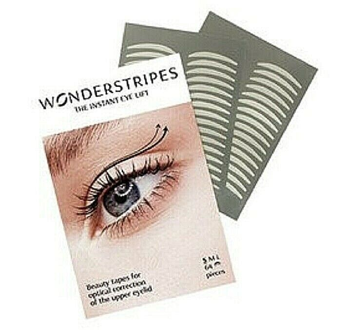 Wonderstripes Eye Lid Lifting Strips, Upper Eye Lift Tape Invisible- S 64 Strips Anti-Aging Products