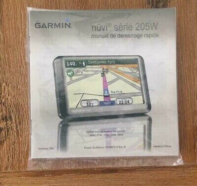 Garmin Nuvi 205W GPS Original Car Charger + Windshield Mount Bundle