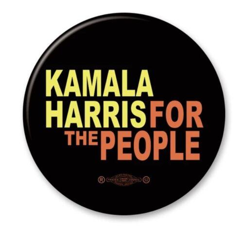 Kamala Harris Is For The People 2020 Biden President 2.25 Inch Button Pin