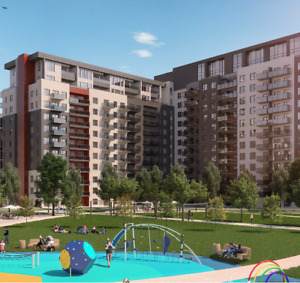 Large condo 3 1/2 available in May (Laval - station Montmorency)