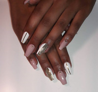 Gel nails for $40