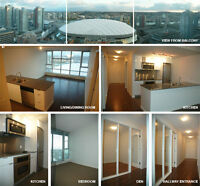 For Rent: 1 BR+Den TV Tower 2 - Robson and Cambie