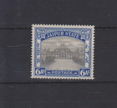p1102 JAIPUR-Feudatory State 1931 Mint 6a Investiture of Maharaja SG.47