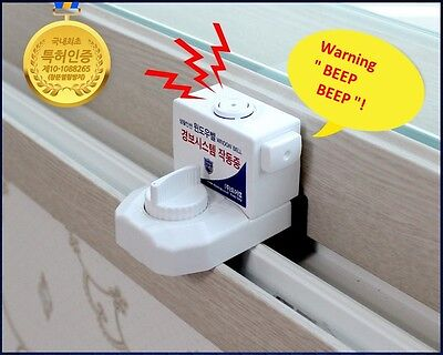 WindowBell Window Security System DIY Install Window Alram Easy &Simple For Home