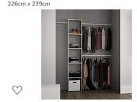 Space pro Wardrobe interior kit