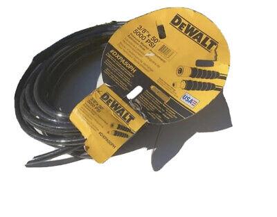 Pressure Parts 3654 6000 Psi 38 X 100 2 Wire Braid Pressure Washer Hose