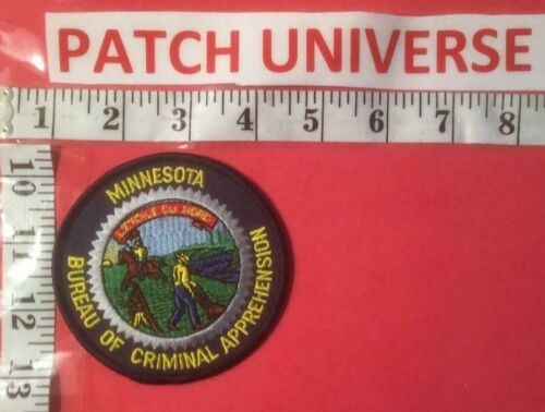 MINNESOTA BUREAU OF CRIMINAL APPREHENSION  SHOULDER PATCH  N129