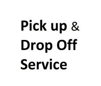 CBMF pick up and drop off service.