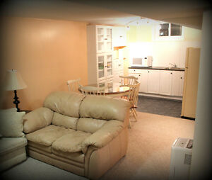One bedroom basement apartment, Cambridge at 401.