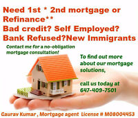 Get first or second mortgage(upto 90%LTV) available instantly**