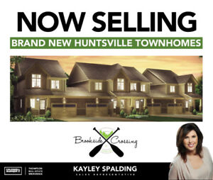 Brand New 3 Bedroom Townhomes In Huntsville! (FREEHOLD!)