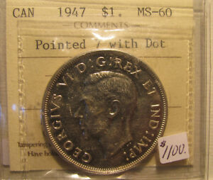 Canadian and US Coins & Currency For Sale!