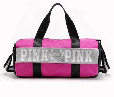Victoria's Secret PINK Sport Duffle, Weekender, Gym Tote Bag - Pink In Color NEW