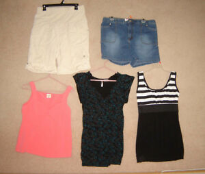 Maternity Tops, Shorts, Jeans, Dresses, Suit - sizes S, M, L