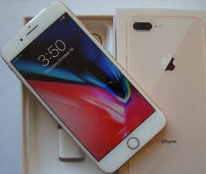 Gold Brand New in Box iPhone 8 Plus 64GB Unlocked 2 Yrs Warranty