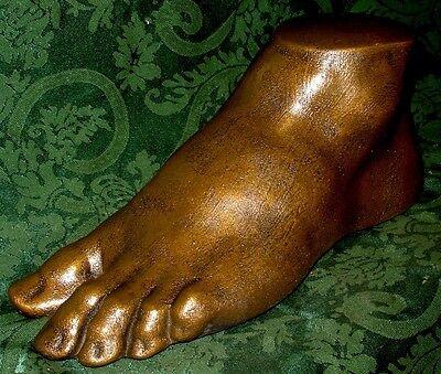 Michelangelo,s David Foot Sculpture Classic Art Reproduction Greek Roman Statue