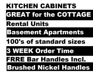 New NOT Used White Kitchen Cabinets - 23% off