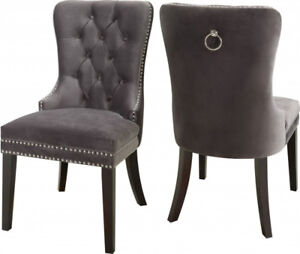 Brand NEW Olivia Button Tufts Wingback Hostess Chair