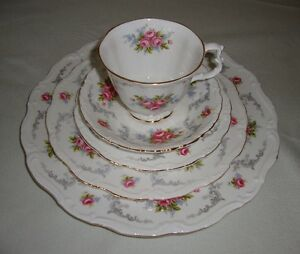 "Royal Albert ""Tranquility"" Bone China"