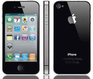 THE CELL SHOP has a Black iPhone 4 16GB with Bell/Virgin