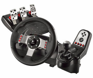 Logitech G25 or G27 Racing wheel