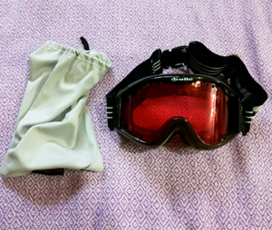 Bolle brand Adult ski mask (small/medium) barely used, red tint