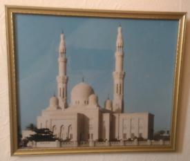 Framed picture of Jumeirah Mosque Dubai