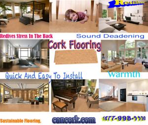 Floating Cork Flooring on Sale Now comfortable
