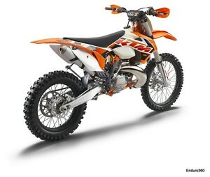 2015 KTM exhaust pipe new take-off.