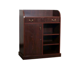 Waiter Station Stand Cabinet Restaurant Commercial Solid Wood RRP £750