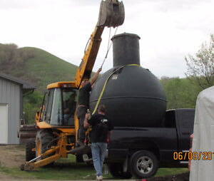 Available in Tisdale!  Fiberglass Septic Tanks & Holding Tanks