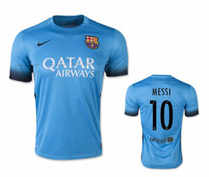 Barcelona Nike jerseys New season 2016 blue, Messi | Neymar