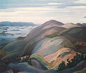 """Limited Edition """"Bay of Islands"""" by Franklin Carmichael"""