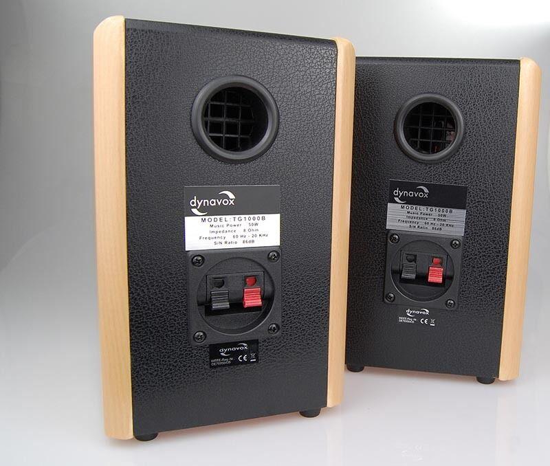 dynavox regal lautsprecher tg 1000b buche paar kleine boxen hifi satelliten eur 43 90. Black Bedroom Furniture Sets. Home Design Ideas
