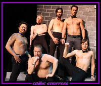 The Comic Strippers: Stockey Centre, Oct 4!