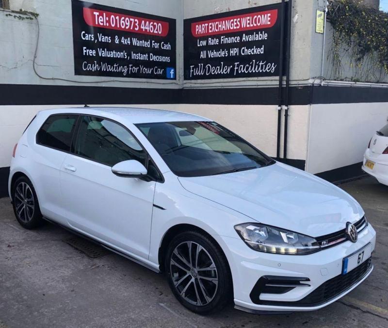 2017 67 Volkswagen Golf R Line 2 0 Tdi Bluemotion Tech 150 Bhp For