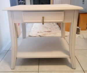 Light Grey Side Table