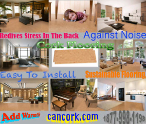 Floating Cork Flooring at its Best – Silver Birch