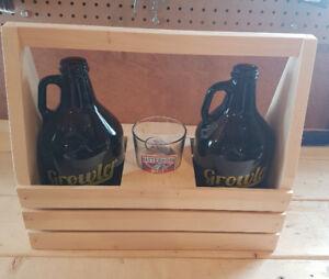 Craft Beer Growler Carrier