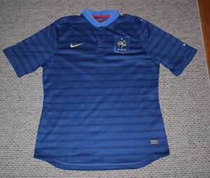 Nike FFF France SS Home Authentic Jersey - Blue/Gold XL Limited