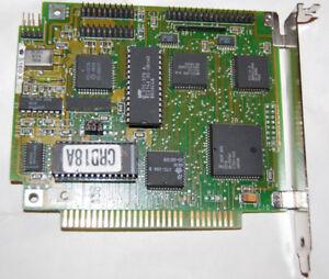 RARE! Vintage DTC 5160X RLL Hard Disk Controller ISA 8-bit