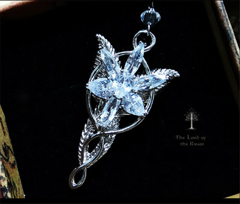 The Lord of the Rings Arwen Evenstar Cosplay Necklace Collectables Pendant Gifts