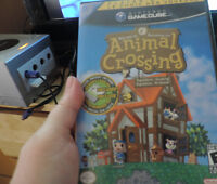 Gamecube avec/with Animal Crossing game/jeux