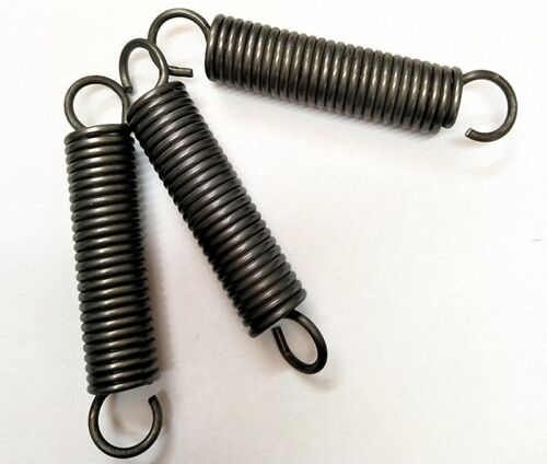 Wire Dia 3.0mm OD 16-30mm Length 50-500mm Tension /& Extension Spring Select size