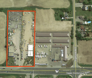 CALLING ALL TRUCKING FIRMS!! LAND FOR LEASE!!!