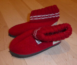 2 pairs of slippers, toddler size 10 - 11, $ 5, $ 10