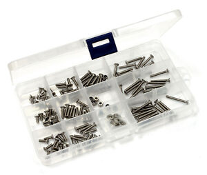 ☆ RC CARS ◘ STAINLESS STEEL SCREW KIT ◘ ALL MODELS ☆